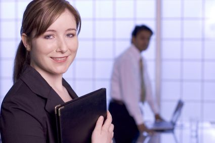 A woman who works for a corporate travel company in Brisbane
